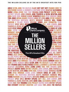 The Official Charts Company: The Million Sellers - 50 Of The UK's Greatest Hits (PVG) Books | Piano, Vocal & Guitar