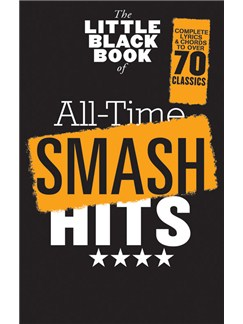 The Little Black Songbook: All-Time Smash Hits Livre | Paroles et Accords
