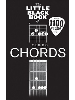 The Little Black Book Of Chords Books | Guitar