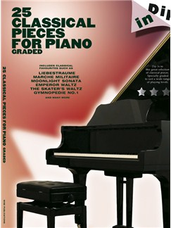 Dip In: 25 Graded Classical Piano Solos Books | Piano