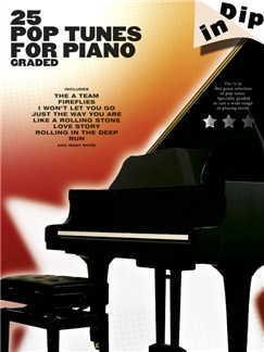 Dip In: 25 Graded Pop Piano Solos Books | Piano
