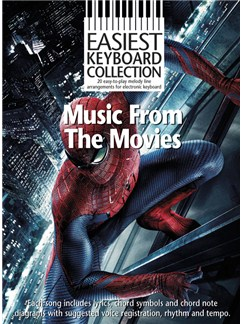 Easiest Keyboard Collection: Music From The Movies Books | Keyboard