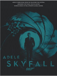 Adele: Skyfall - James Bond Theme Books | Piano, Vocal & Guitar