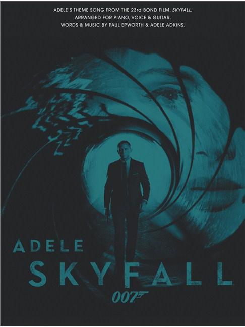 Adele Skyfall James Bond Theme Piano Vocal Guitar Digital