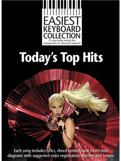 Easiest Keyboard Collection: Today's Top Hits Books | Keyboard