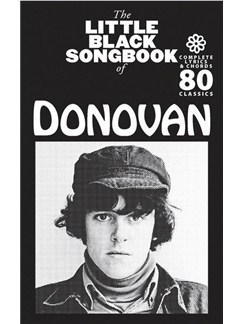 The Little Black Songbook Of Donovan Books | Guitar, Lyrics Only
