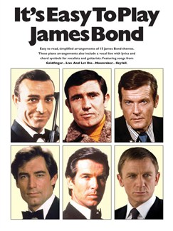 It's Easy To Play James Bond Books | Piano