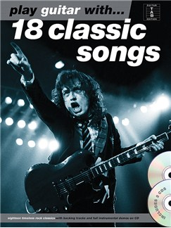 Play Guitar With... 18 Classic Songs Books and CDs | Guitar, Guitar Tab