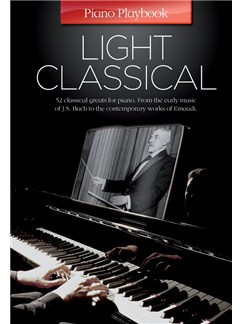 Piano Playbook: Light Classical Livre | Piano