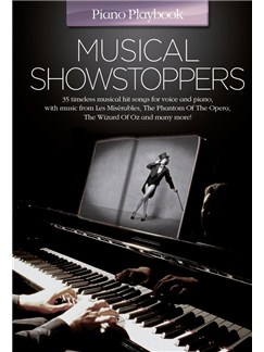 Piano Playbook: Musical Showstoppers Books   Piano