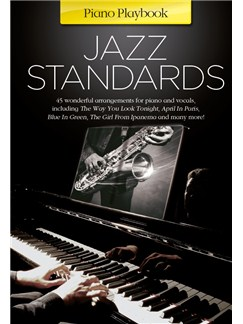 Piano Playbook: Jazz Standards Livre | Piano, Voix