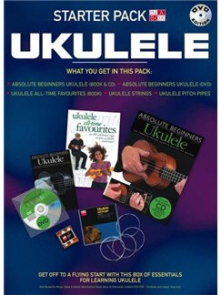 In A Box Starter Pack: Ukulele (DVD Edition) - Dutch Books and DVDs / Videos | Ukulele