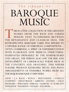 The Library Of Baroque Music Books | Piano