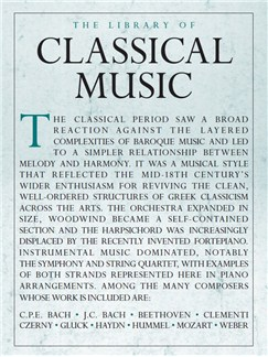 The Library Of Classical Music Books | Piano