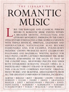 The Library Of Romantic Music Books | Piano