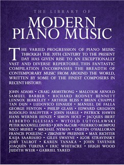 The Library Of Modern Piano Music Books | Piano