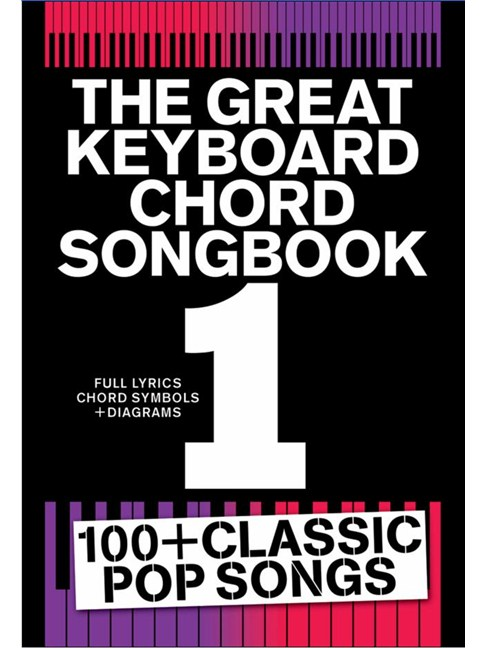 Great Keyboard Chord Songbook 1 - Lyrics & Piano Chords Sheet Music ...