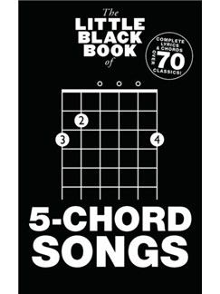The Little Black Book Of 5-Chord Songs Books | Guitar
