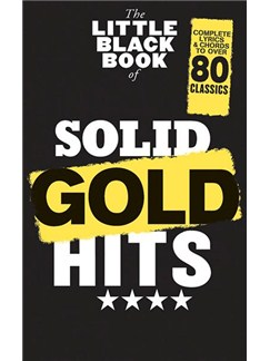 The Little Black Book Of Solid Gold Hits Books | Guitar (with Chord Symbols)