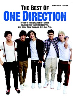 Best Of One Direction (PVG) Books | Piano, Vocal & Guitar