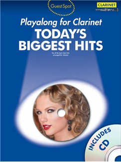 Guest Spot Today's Biggest Hits: Clarinet Books and CDs | Clarinet