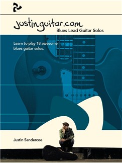 Justinguitar.com Blues Lead Guitar Solos Books | Guitar