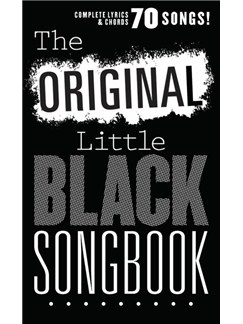The Original Little Black Songbook Books | Lyrics & Chords