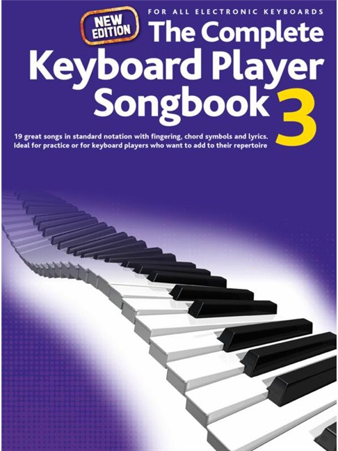 Complete Keyboard Player New Songbook 3 Keyboard Sheet Music