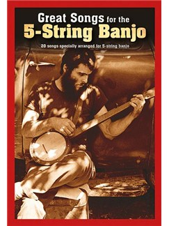 Great Songs For The 5-String Banjo Books | Banjo