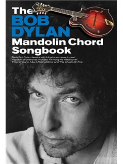 The Bob Dylan Mandolin Chord Songbook Books | Mandolin (with Chord Boxes)