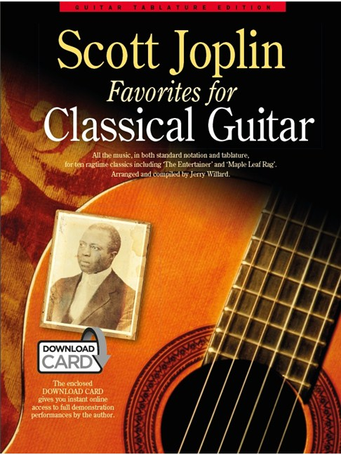 Scott Joplin Favorites For Classical Guitar (Book/Audio Download ...