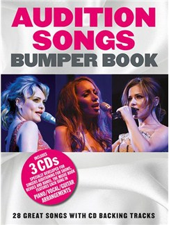 Audition Songs: Bumper Songbook (Book/3CDs) Books and CDs | Piano, Vocal & Guitar