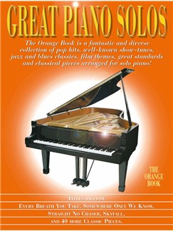 Great Piano Solos: The Orange Book Books | Piano