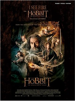 The Hobbit: I See Fire (PVG) Livre | Piano, Voix, Guitare