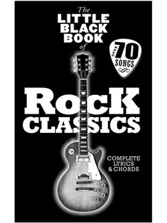 The Little Black Songbook: Rock Classics Books | Lyrics & Chords