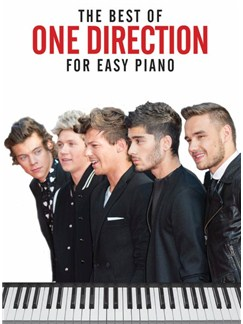 The Best Of One Direction: Easy Piano Books | Easy Piano
