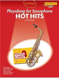 Guest Spot: Hot Hits - Alto Saxophone (Book/Audio Download) Audio Digitale et Livre | Saxophone Alto