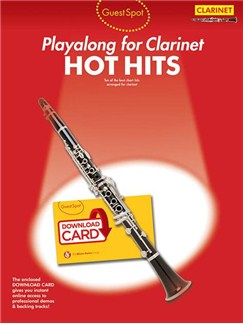 Guest Spot: Hot Hits - Clarinet (Book/Audio Download) Books and Digital Audio | Clarinet