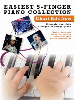 Easiest 5-Finger Piano Collection: Chart Hits Now Books | Piano