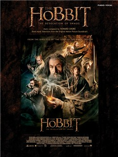 Howard Shore: The Hobbit - Desolation Of Smaug Livre | Chant et Piano