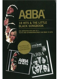 ABBA: 18 Hits & The Little Black Songbook (Book/CD) Books and CDs | Lyrics & Chords