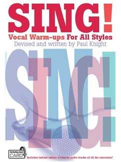 Sing! Vocal Warm-ups For All Styles (Book/Audio Download) Books and Digital Audio | Voice/Unison Voice