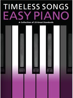 Timeless Songs For Easy Piano Books | Easy Piano
