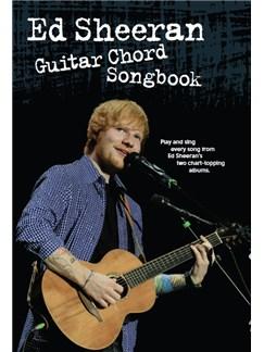 Ed Sheeran: Guitar Chord Songbook Books |