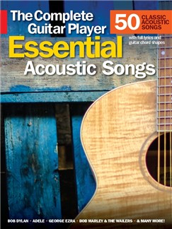 The Complete Guitar Player: Essential Acoustic Songs Books | Guitar