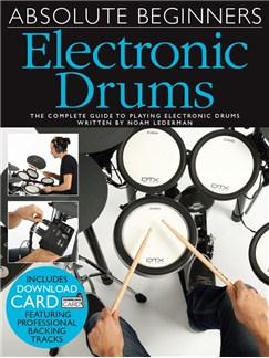Absolute Beginners: Electronic Drums (Book/Audio Download) Books | Electronic Drums
