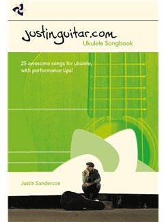 The Justinguitar.com Ukulele Songbook Books | Ukulele