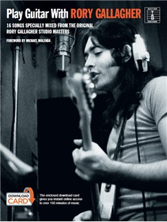 Play Guitar With... Rory Gallagher (Book/Audio Download) Books | Guitar