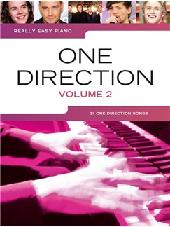 Really Easy Piano: One Direction - Volume 2 Books | Easy Piano