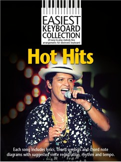 Easiest Keyboard Collection: Hot Hits Books | Keyboard